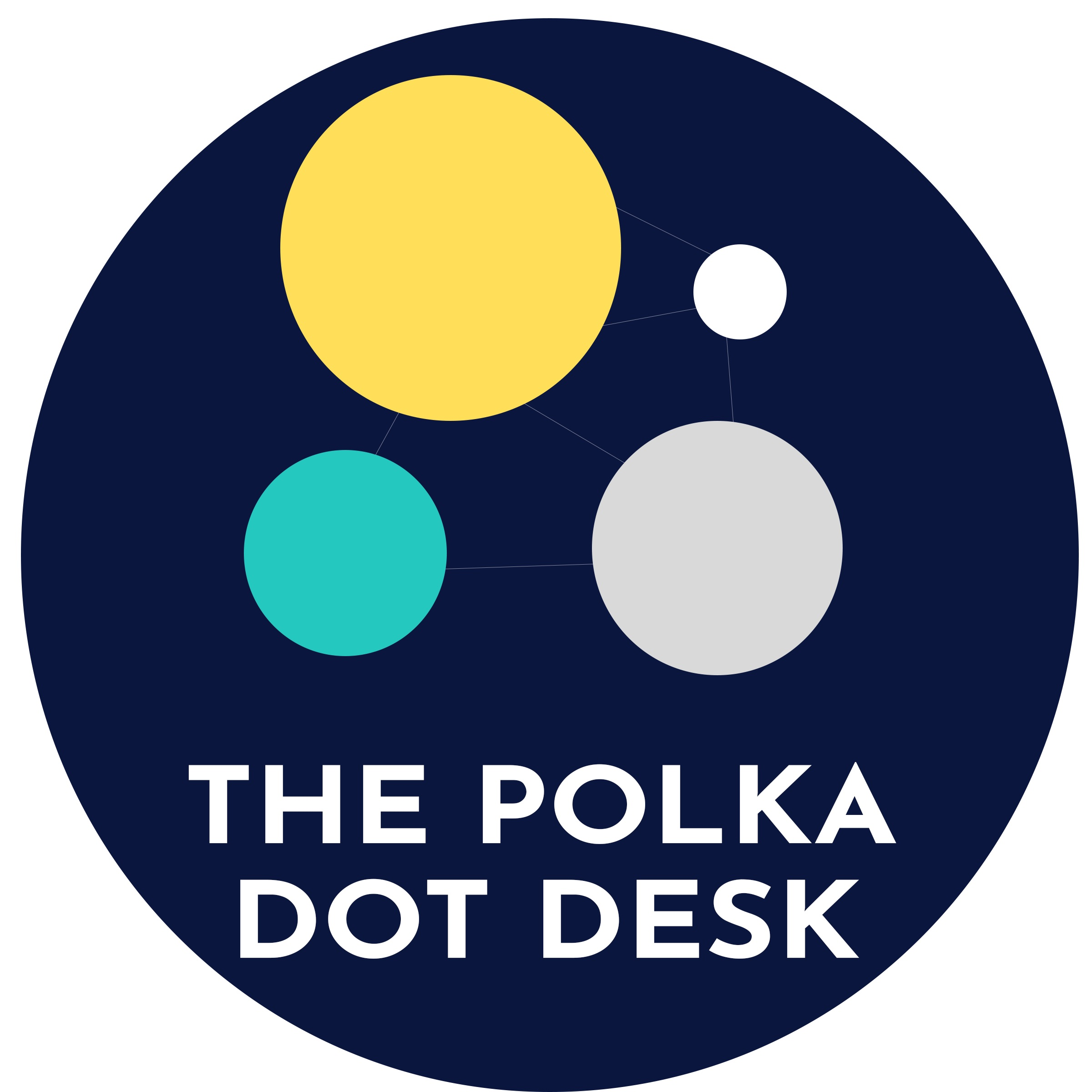 The Polka Dot Desk